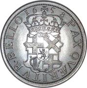 1 Shilling - Oliver Cromwell (replica) – reverse