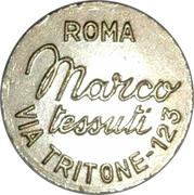 Token - Marco tessuti (Roma) – reverse