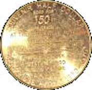 ½ Dollar - Brookville Kansas – reverse
