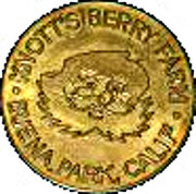 Token - Knott's Berry Farm – obverse