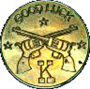 Token - Knott's Berry Farm – reverse