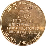 50 Cents - North Kansas City, Missouri – reverse