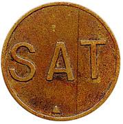 Wage Token - SAT – obverse