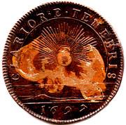 Token - Clarior E. Tenebris (Prince James Jacobite Token) – reverse