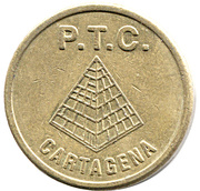 Token - PTC Cartagena – obverse