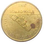 Token - The Boardwalk (Magnetic Hill N.B.) – obverse