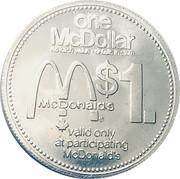 1 Dollar - McDollar (Loblaws) – reverse