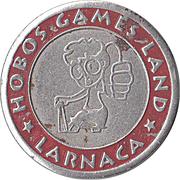 Token - Hobos Games Land (Larnaca) – reverse