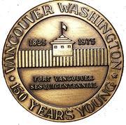 Token - Vancouver, Washington (Voyage of S.S. Beaver) – obverse