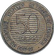 1 Dollar - SAAN (50th Anniversary) – obverse