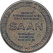 1 Dollar - SAAN (50th Anniversary) – reverse