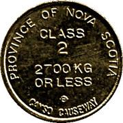 Token - Canso Causeway (Class 2) – reverse