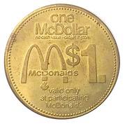1 Dollar - McDollar (Zehrs) – reverse