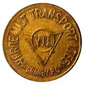 Token - Verreault Transport Ltee (Granby, Quebec) – reverse