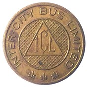 Token - Inter-City Bus Limited – obverse