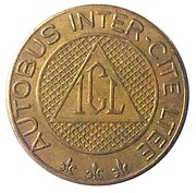 Token - Inter-City Bus Limited – reverse
