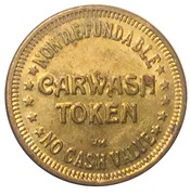Car Wash Token - Rubber Duck Car Wash (Nova Scotia) – reverse