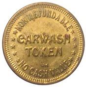 Car Wash Token - Rubber Duck Car Wash (Nova Scotia) – reverse