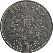 Carwash Token - Weiss Guys Car Wash – obverse