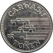 Carwash Token - Weiss Guys Car Wash – reverse