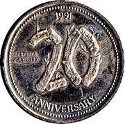 2 Dollars - Oromocto, New Brunswick (Oromocto Pioneer Days) – obverse