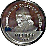 Token - Franklin Mint Collectors Society – obverse