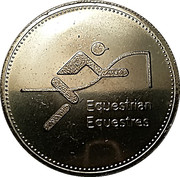 Token - Olympic Trust of Canada (Equestrian) – obverse