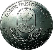 Token - Olympic Trust of Canada (Equestrian) – reverse
