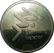 Token - Olympic Trust of Canada (Swimming) – obverse