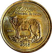 2 Souvenir Dollars - Jasper, Alberta – obverse