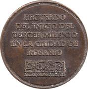 Token - Rosario 2000 – reverse