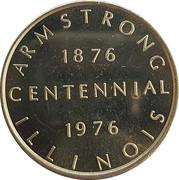 Token - Armstrong,  Illinois Centennial – obverse