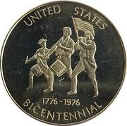 Token - Armstrong,  Illinois Centennial – reverse