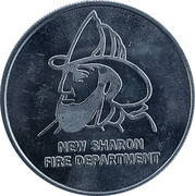 Token - New Sharon, Iowa (125th Anniversary) – reverse