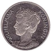 "Penning - Wilhelmina (Rabobank 100 jaar ""Oprichting CCRB & CCB 1898"") – obverse"