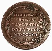 Leopold II - County of Flanders – reverse