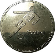 Token - Olympic Trust of Canada (Football) – obverse