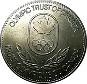 Token - Olympic Trust of Canada (Football) – reverse