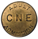 Token - CNE Adult Admission – reverse