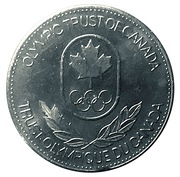 Token - Olympic Trust of Canada (Judo) – reverse