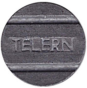 Telephone Token - TELERN – obverse