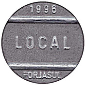 Telephone Token - National Local Call (Forjasul) – obverse