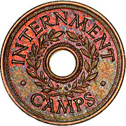3 Pence (Hay Internment Camp Token) – obverse