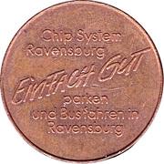 Parking Token - Ravensburger Chip – reverse