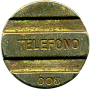 Telephone Token - CAT – reverse