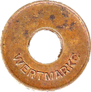 Token - Wertmarke Gruner – obverse