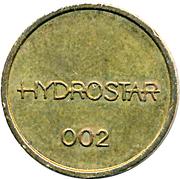 Car Wash Token - Hydrostar 002 – reverse