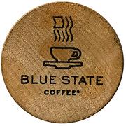 Token - Blue State Coffee – obverse