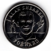 Token - Official England Squad 1996 (Alan Shearer) – obverse