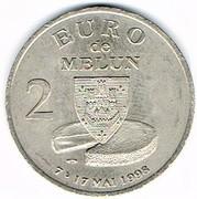 2 Euro (Melun) – obverse